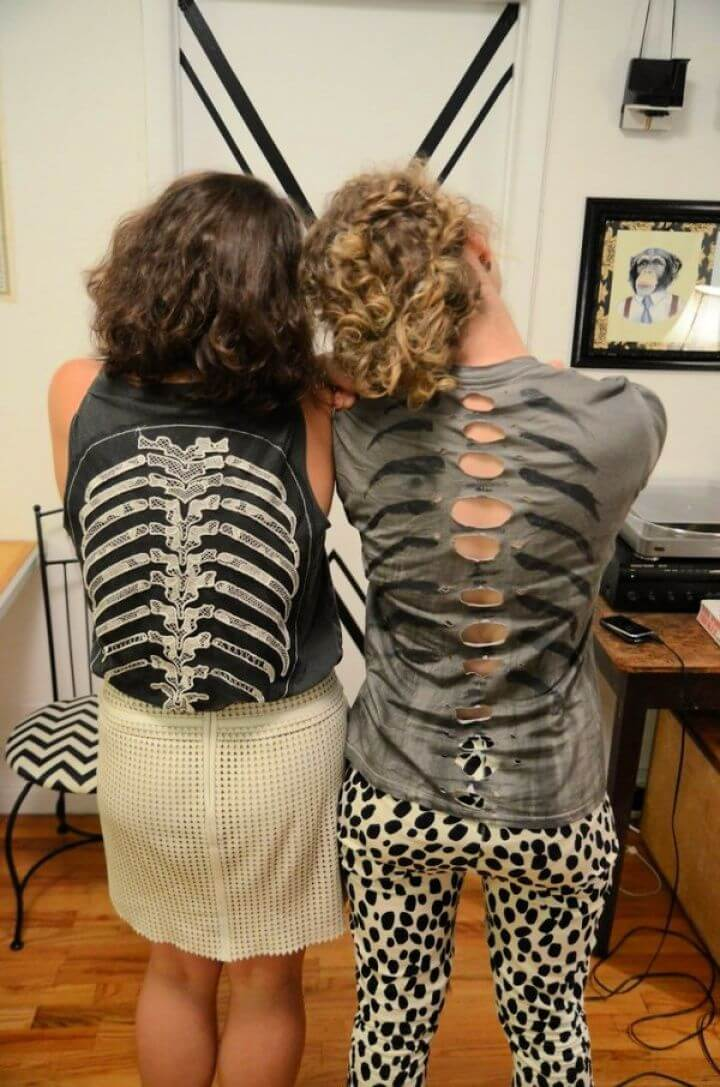 DIY Spine T Shirt Project Reimagined