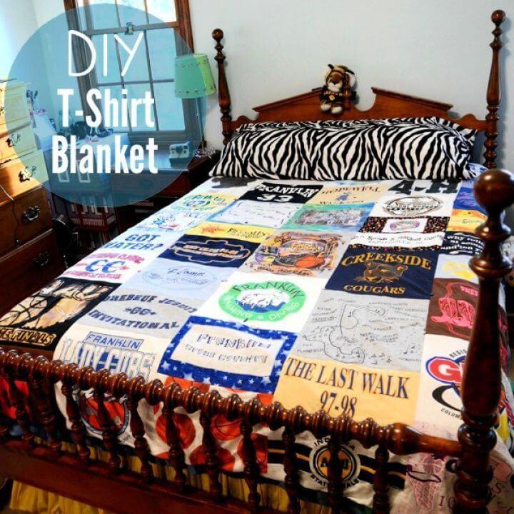 DIY T Shirt Quilt