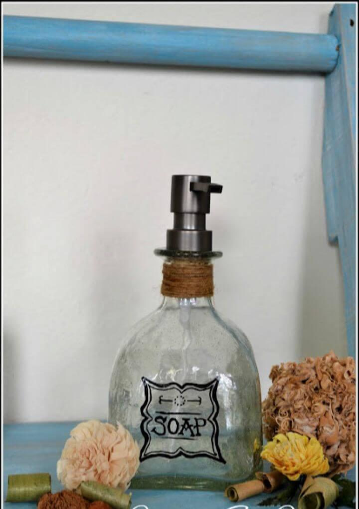DIY Upcycled Soap Dispensers