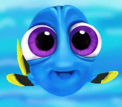 Draw Baby Dory From Finding Dory