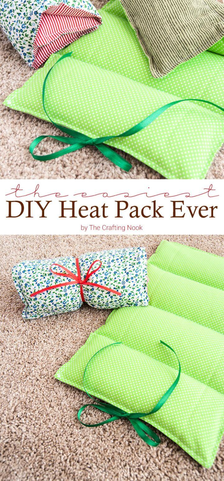 Easiest DIY Heat Pack Ever