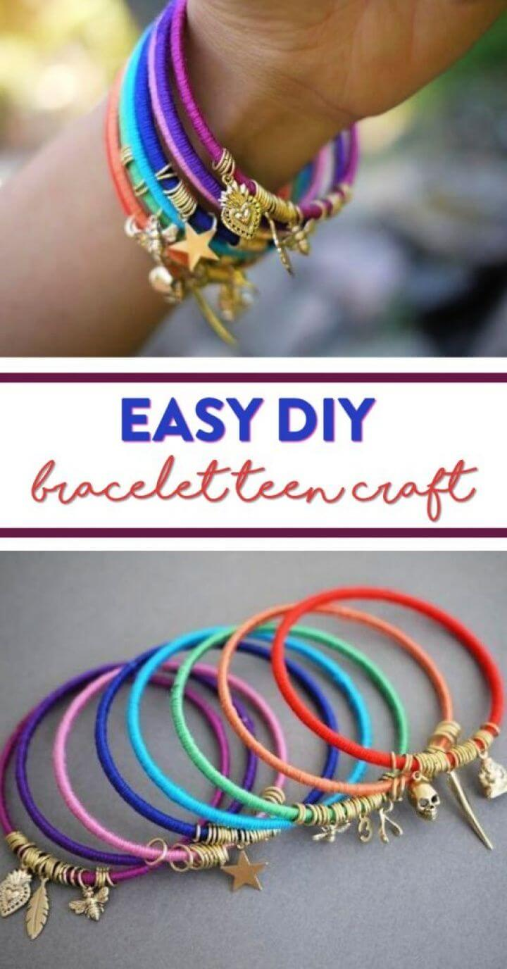 Easy DIY Bracelet Teen Craft