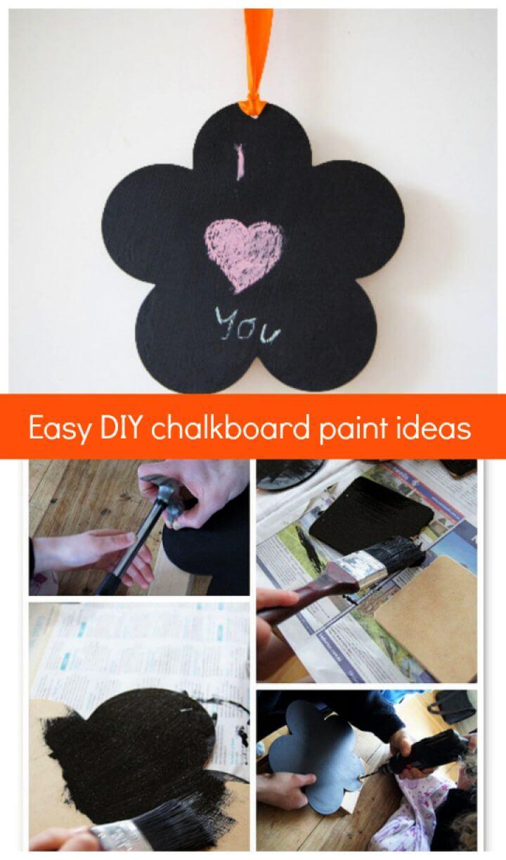 Easy DIY Chalkboard Paint Ideas