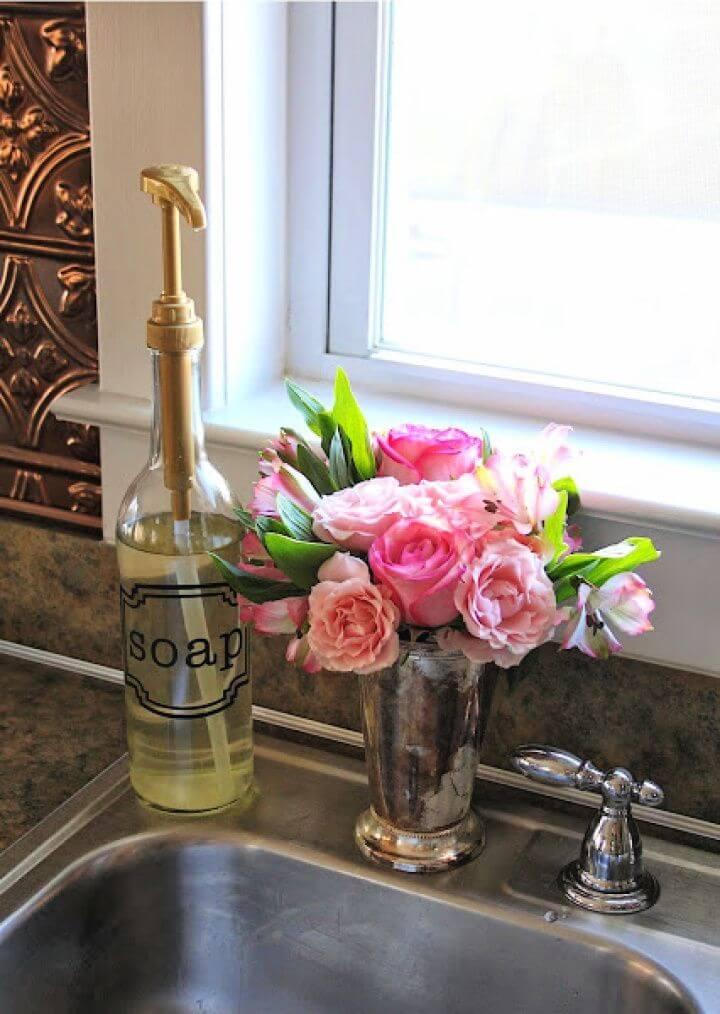 Easy DIY Soap Dispenser Tutorial