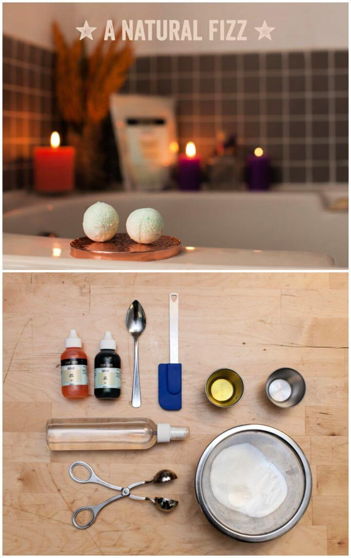 Enjoy A Natural Fizz With These Easy Homemade Bath Bombs