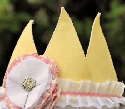 Fabric Princess Crown