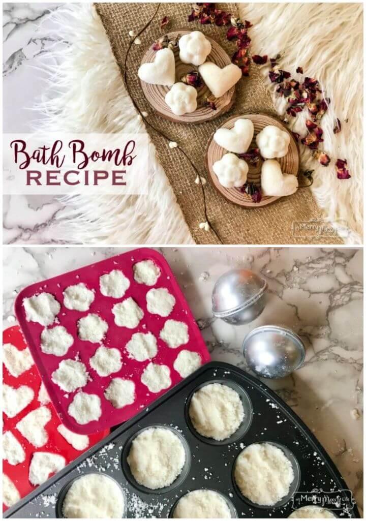 Fizzy Bath Bombs Recipe