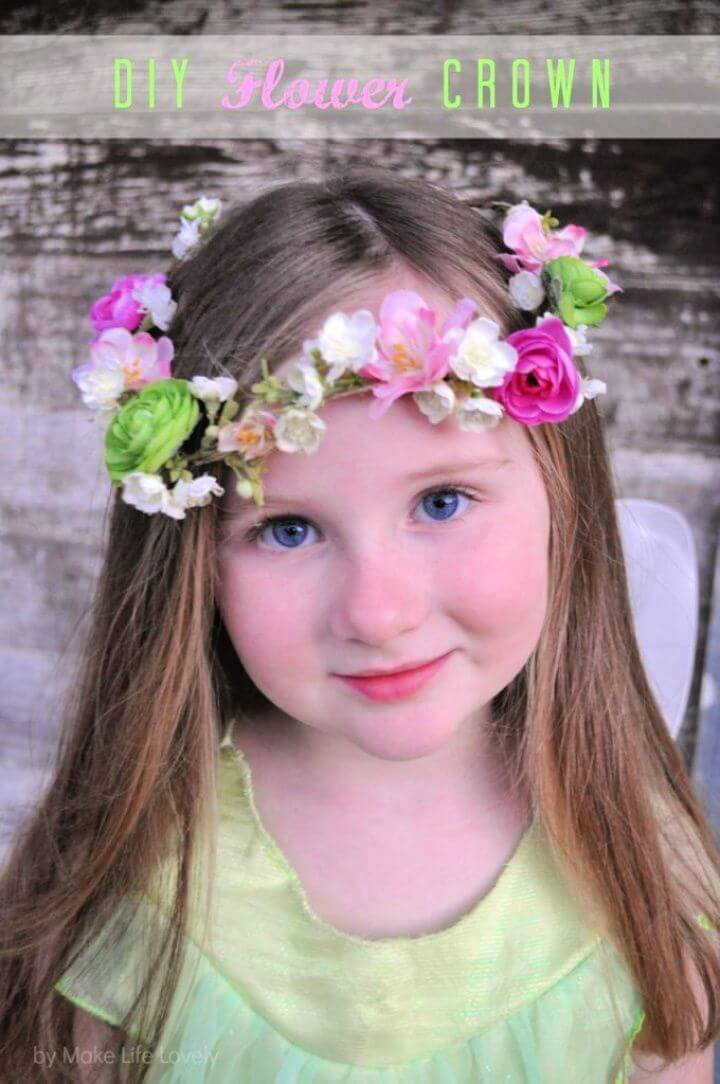Flower Princess Crown