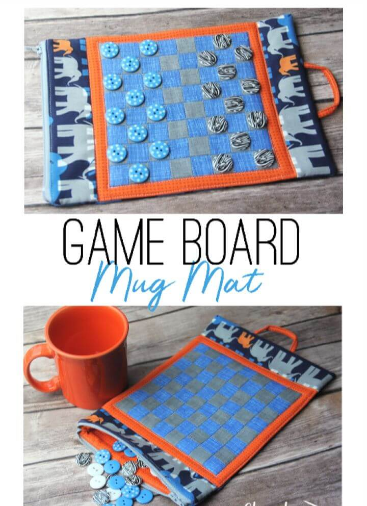 Game Board Mug Mat