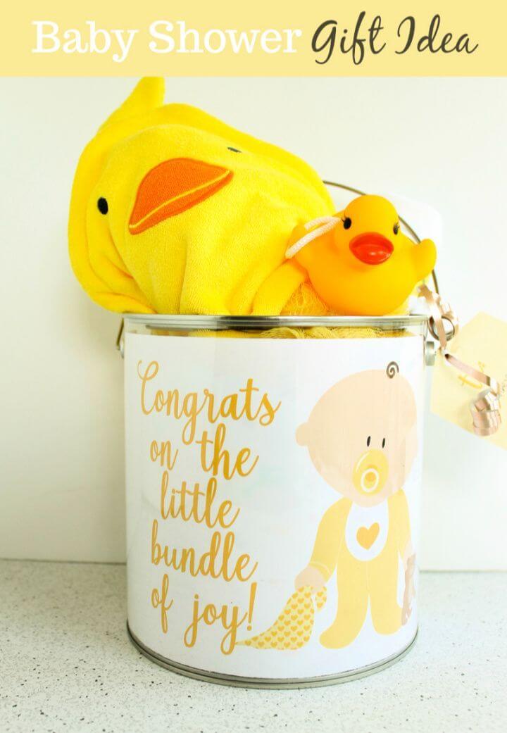 Gender Neutral Baby Shower Gift Idea