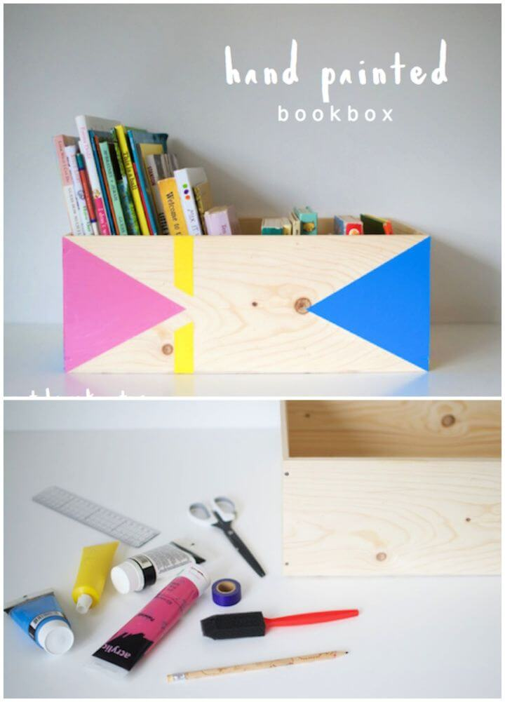 Hand Painted Book Box Tutorial