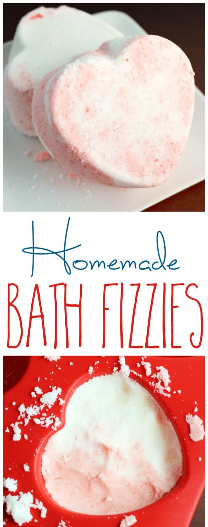 Homemade Bath Fizzies