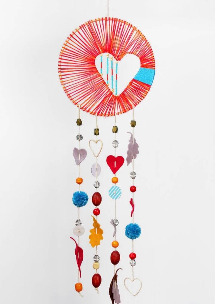 How To DIY Heart Hope Dreamcatcher
