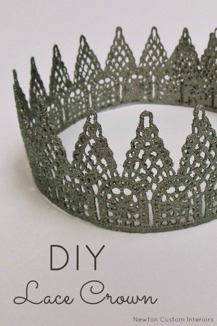 How To DIY Lace Princess Crown