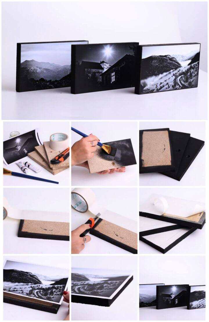 How To DIY Photo Frame Tutorial
