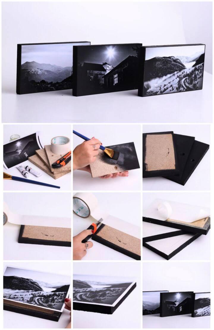 How To DIY Photo Frame Tutorial