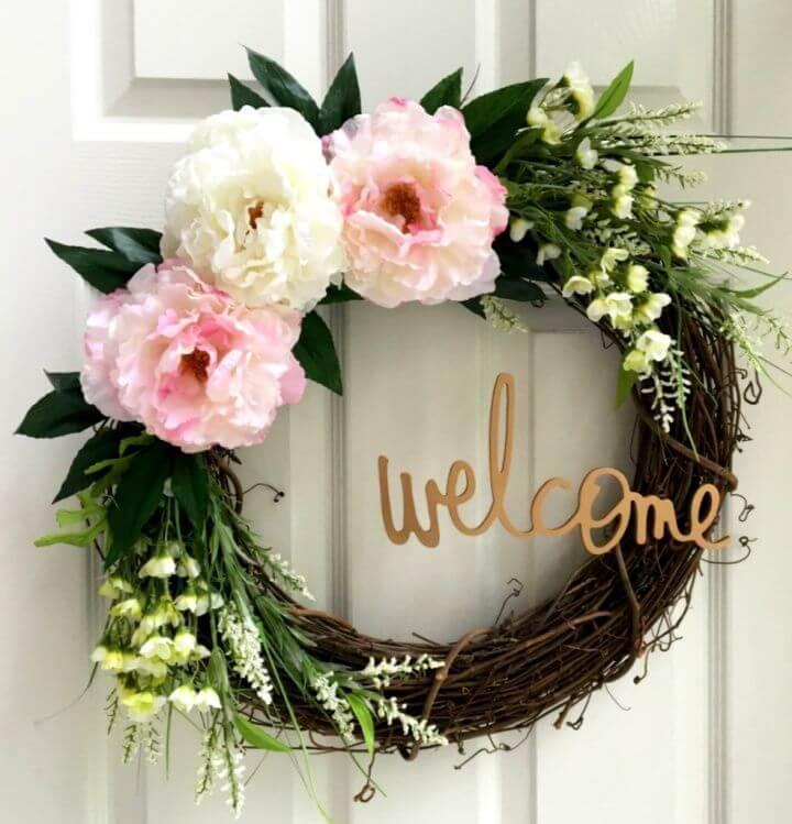 How To DIY Summer Wreath