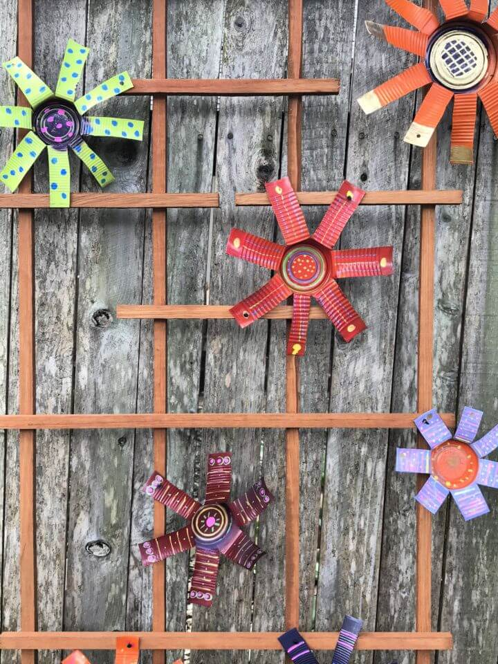 How To DIY Tin Can Flowers