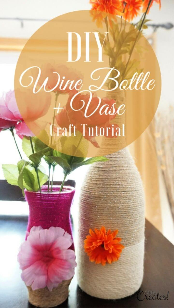 How To DIY Wine Bottle Crafts