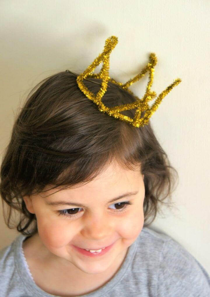 How To Make A Pipe Cleaner Princess Crown