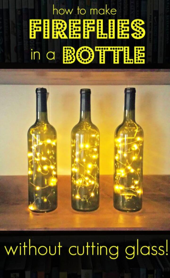 How To Make Fireflies In A Bottle