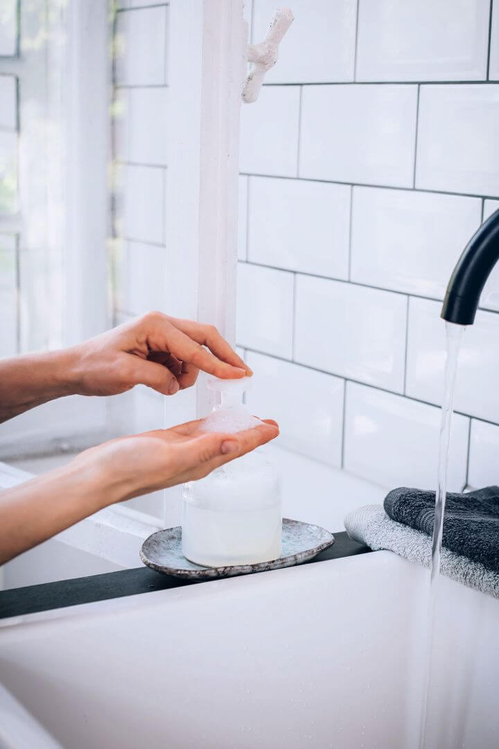 How To Make Your Own DIY Foaming Hand Soap