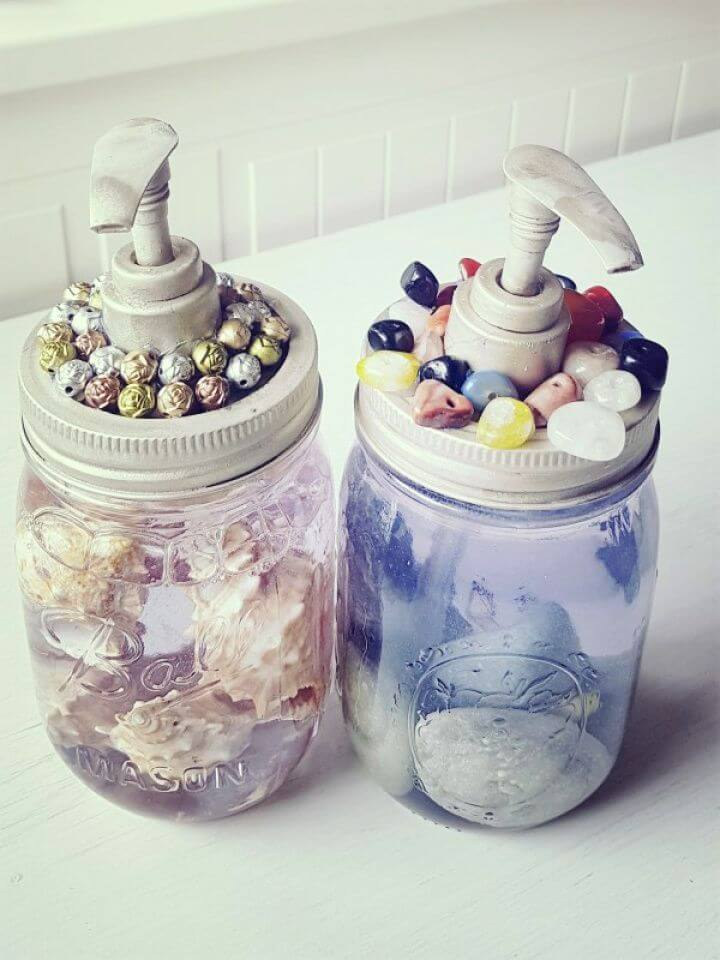 How To Make Your Own DIY Soap Dispenser