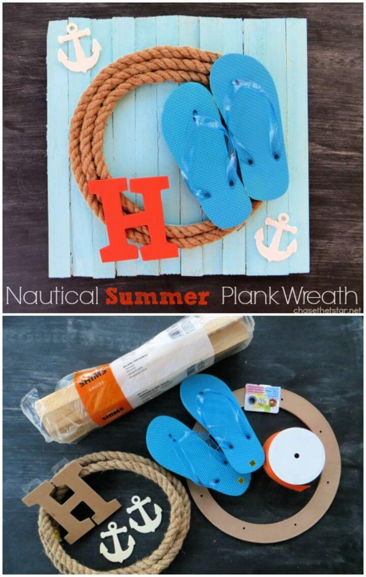 How To Make Your Own Summer Wreath