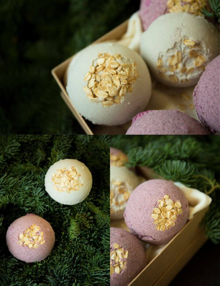 How to Make Fizzing Bath Bombs with Herbs and Essential Oils