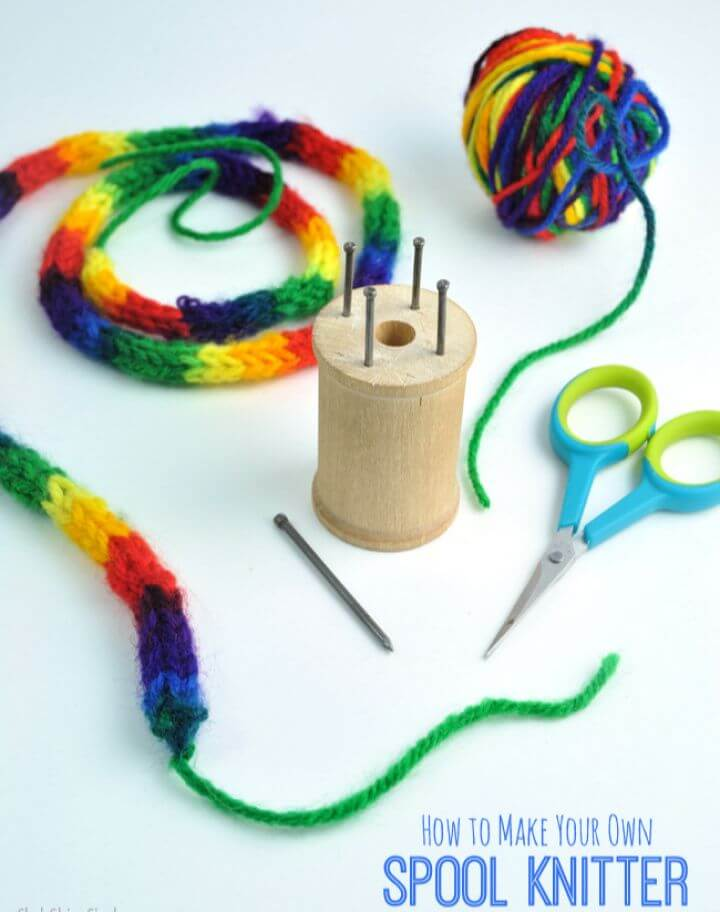 How to Make Your Own Spool Knitter