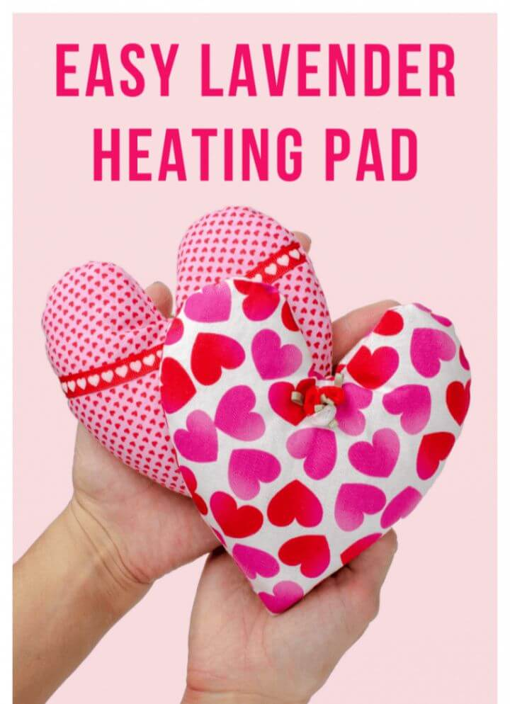 How to Make a Rice Heating Pad with Lavender