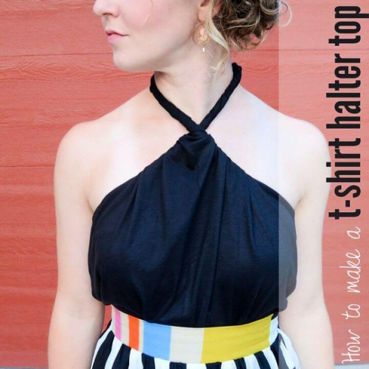 How to Make a T Shirt Halter Top