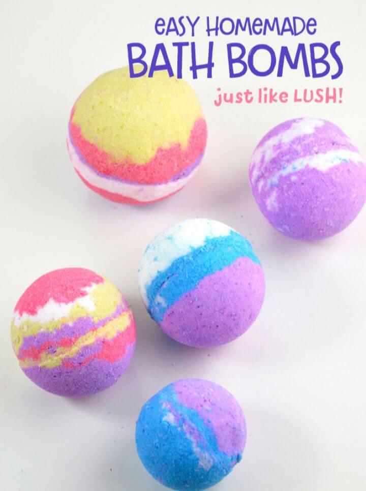 Inspired Homemade Bath Bombs
