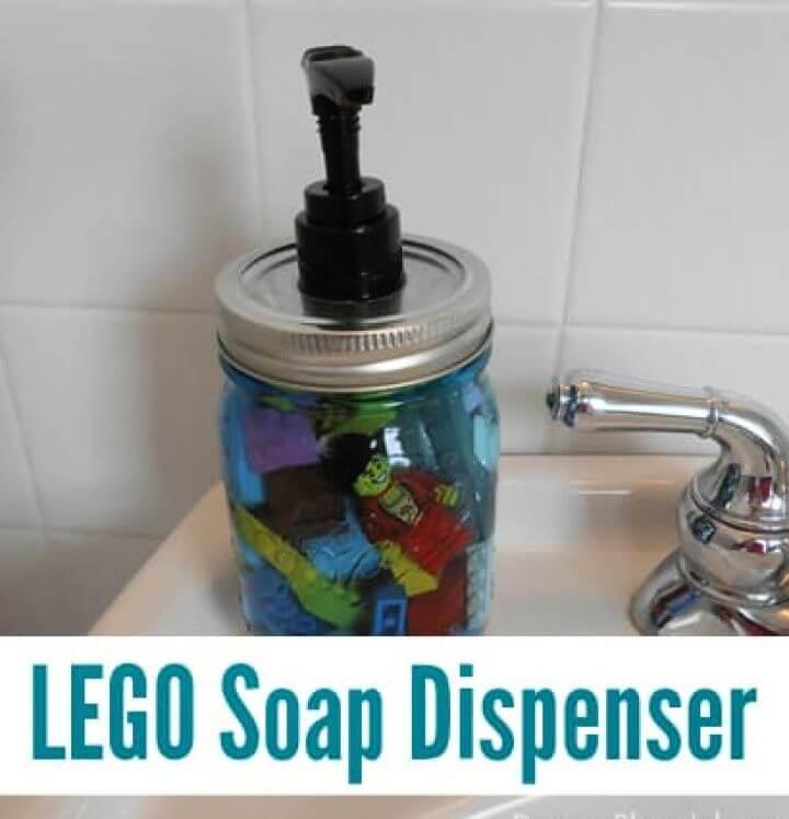 Lego Soap Dispenser DIY Gift For Kids