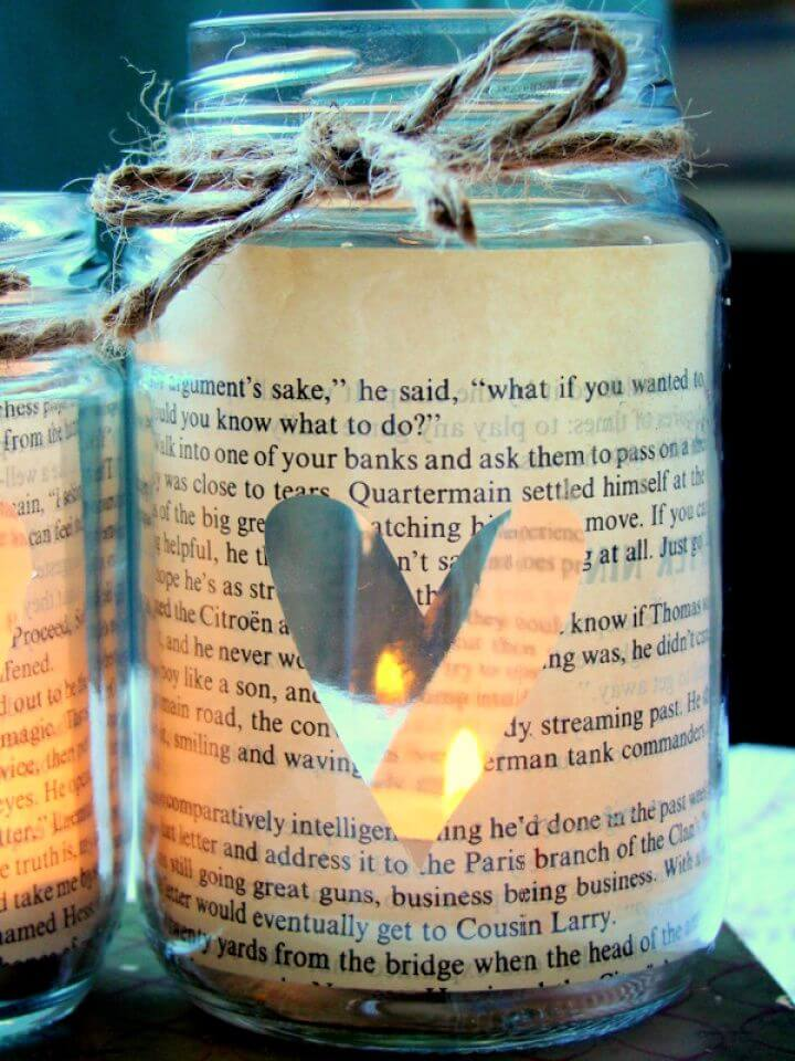 Love Story Candle In A Bottle Valentine Lights