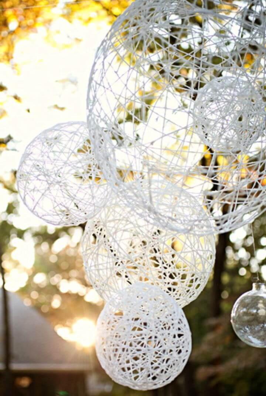 Make A DIY Lantern Chandeliers