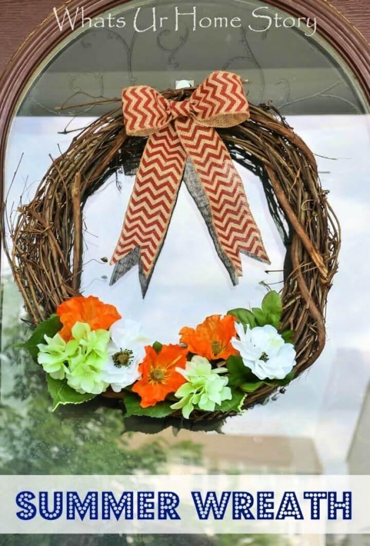 Make A DIY Summer Wreath