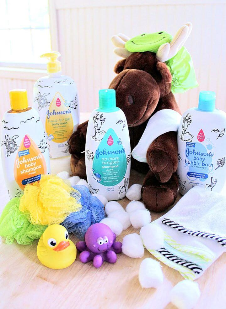Make A Themed Baby Shower Or New Baby Gift Basket