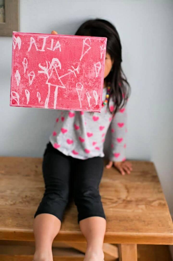 Make Cool Pop Art With Kids' Drawings