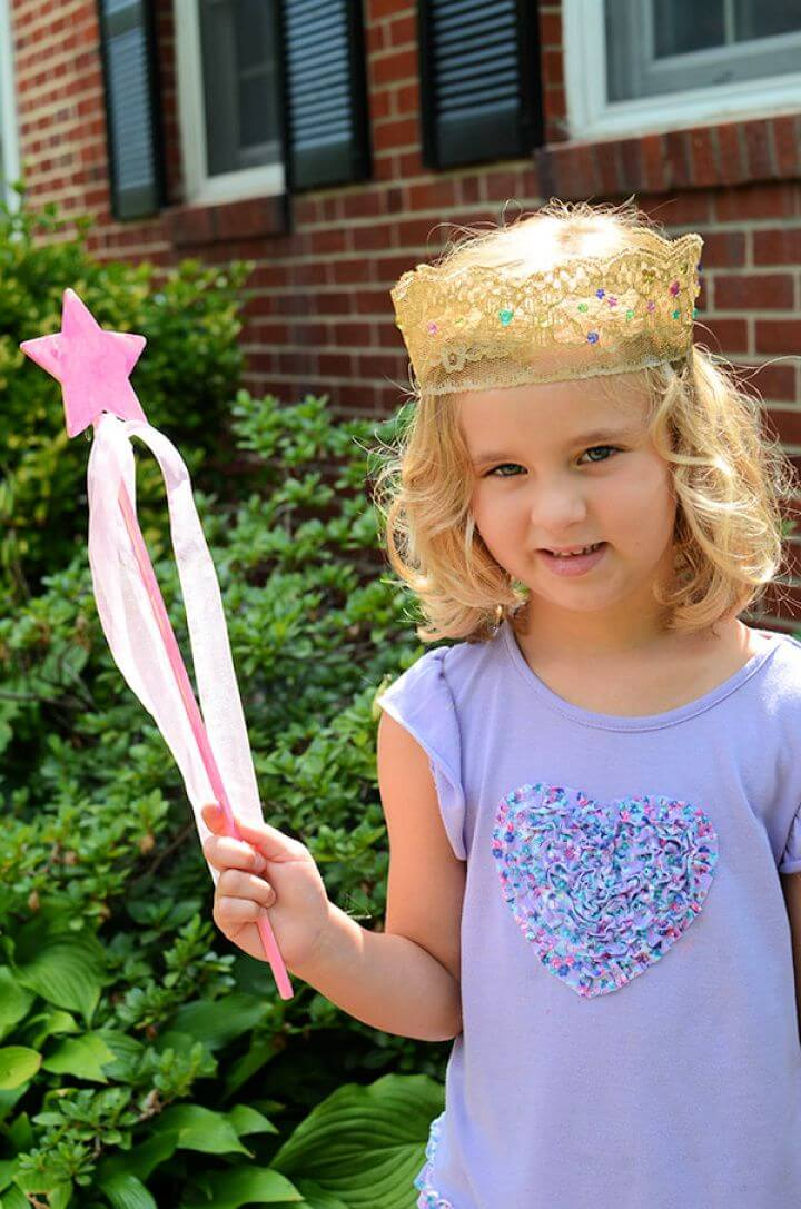 Make Your Own Princess Costume Crown