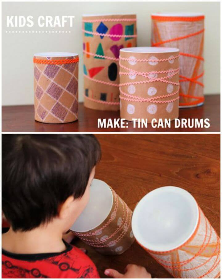 Make Your Own Tin Can Drum