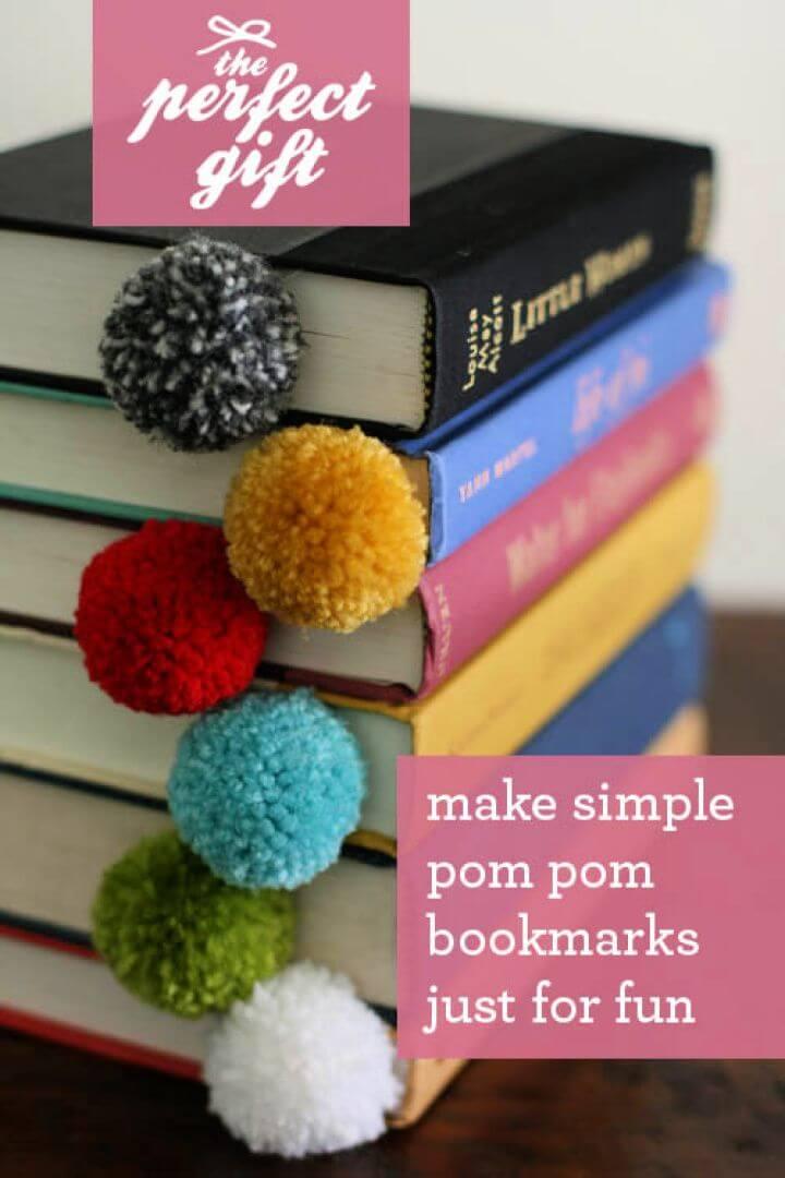 Make Your Own Yarn Ball Bookmark