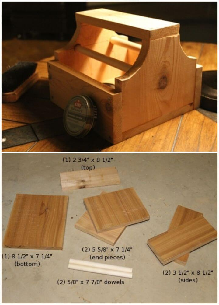Make a Nifty Shoe Shine Box