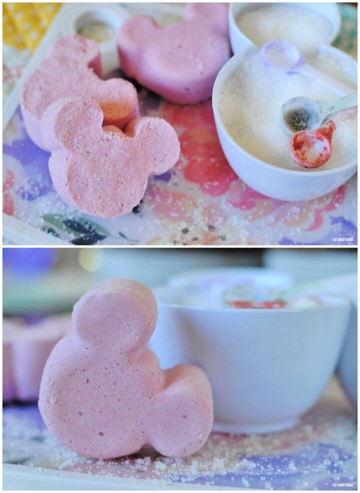 Mickey Bath Bombs