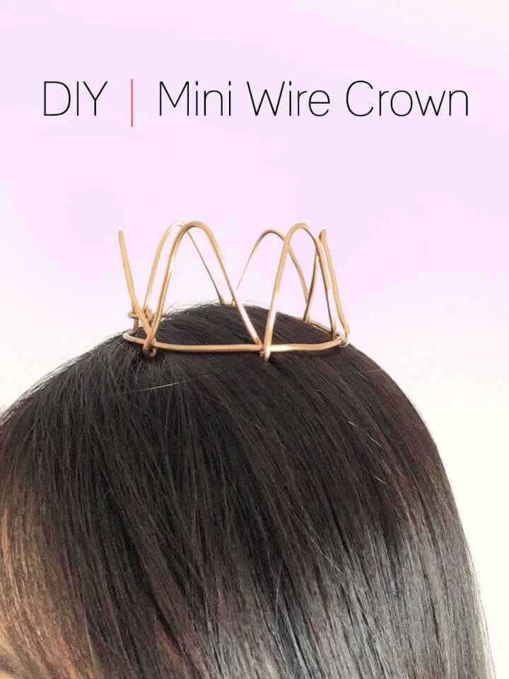 Mini Wire Princess Crown