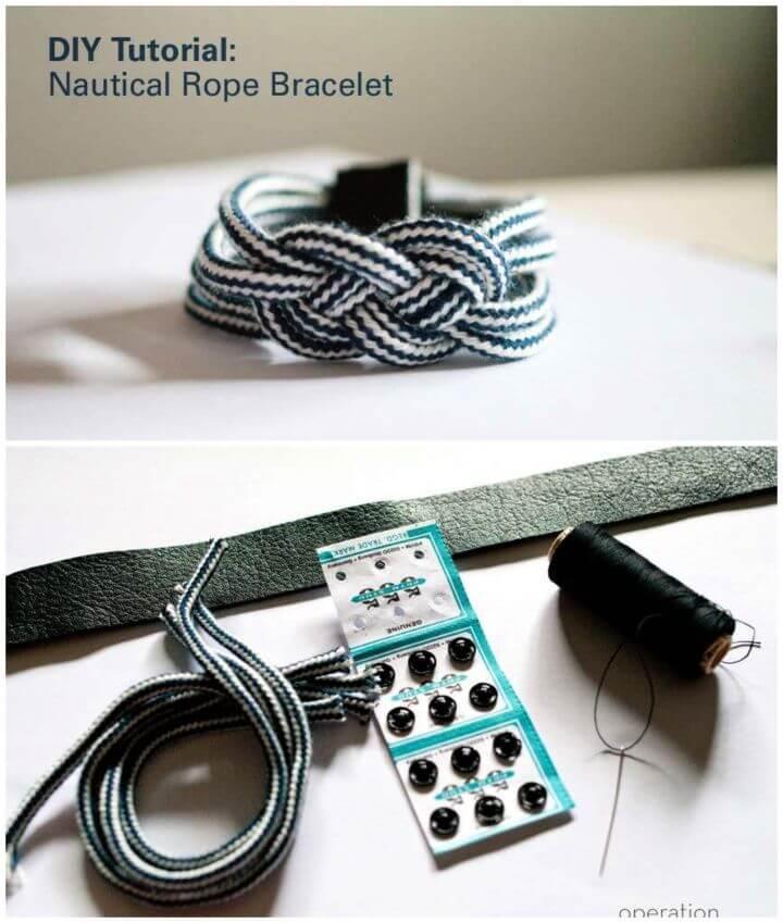 Nautical Rope Bracelet