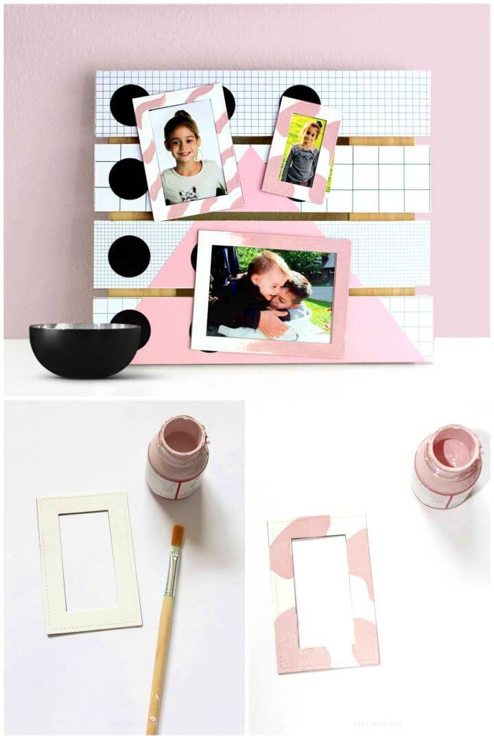 Picture Display with Magnet Frames
