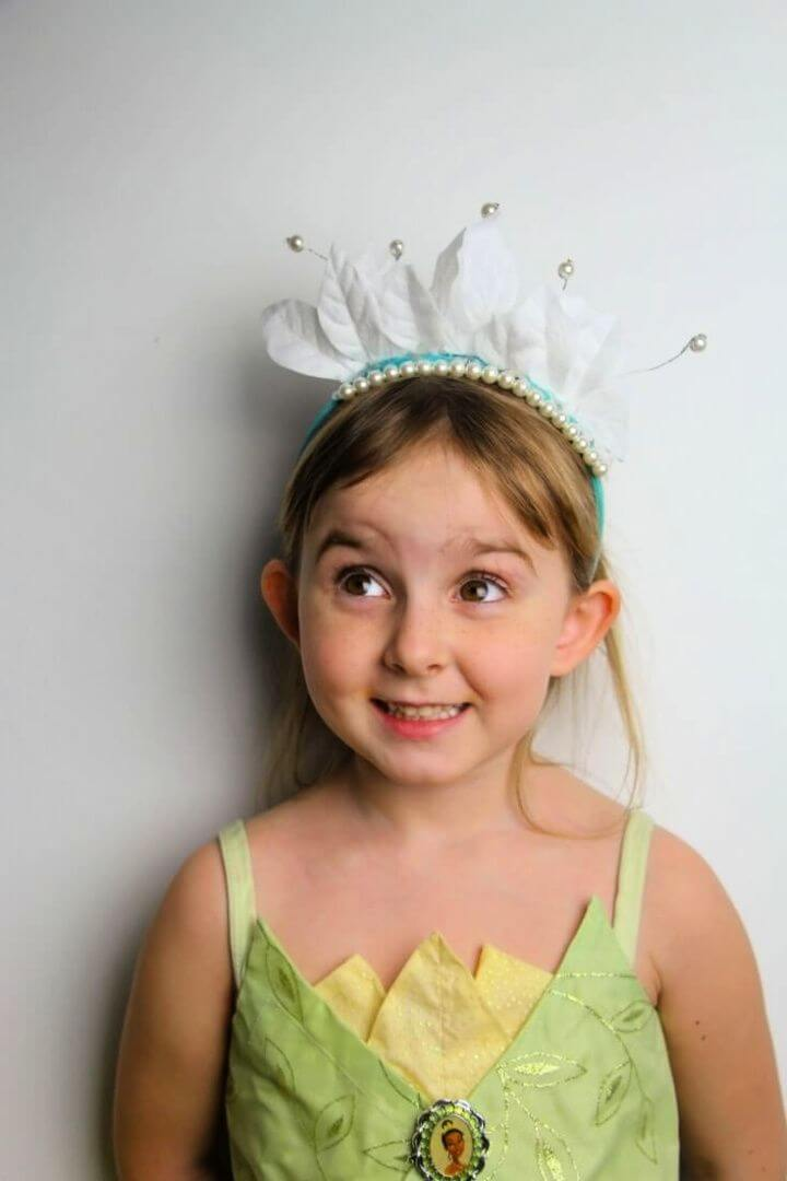 Princess The Frog Tiana Crown Craft