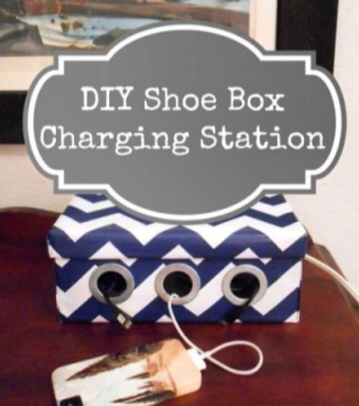 Shoe Box Charging Station