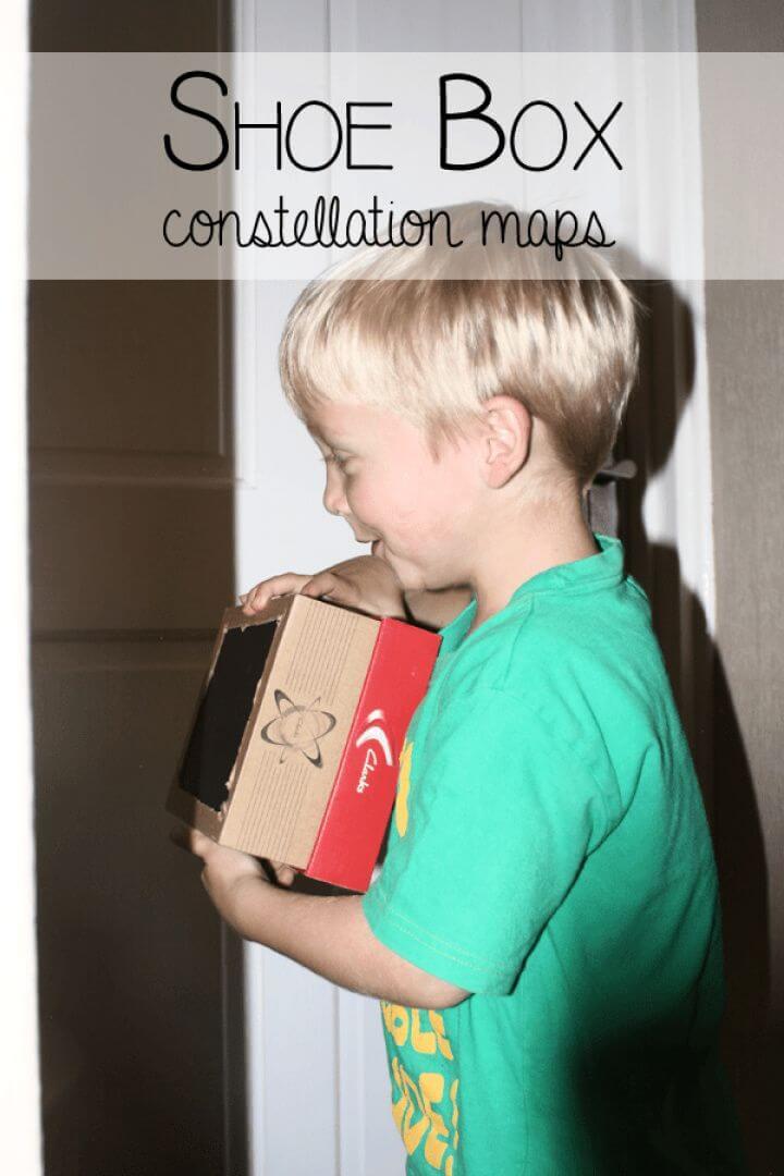 Shoe Box Constellation Maps